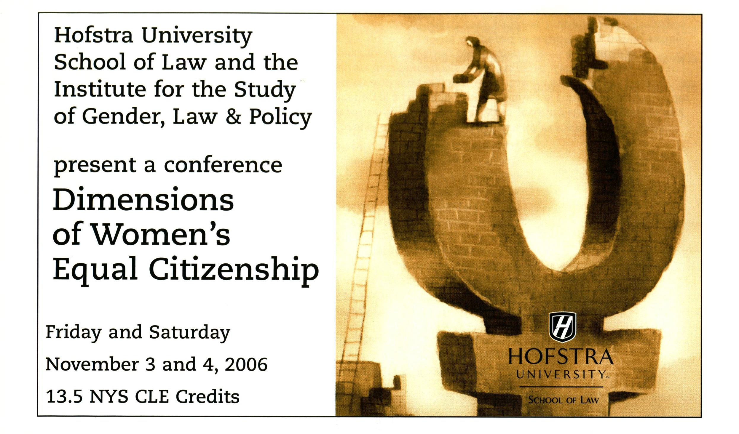 Dimensions of Women's Equal Citizenship (2006)
