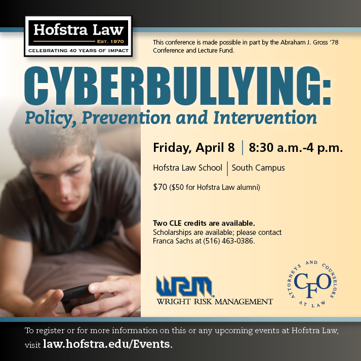 CYBERBULLYING: Policy, Prevention and Intervention (2011)