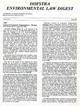 Hofstra Environmental Law Digest Vol. 4, No. 1, Spring 1987 by Hofstra University School of Law