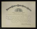 United States Supreme Court Bar Admission
