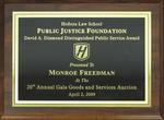 Public Justice Foundation David A. Diamond Distinguished Public Service Award