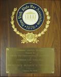 New York State Bar Association Award