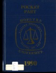 Pocket Part 1990 by Hofstra School of Law and Michael Abneri Ed.